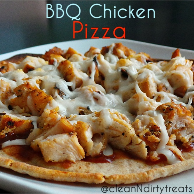 Low Carb, High Protein BBQ Chicken Pizza