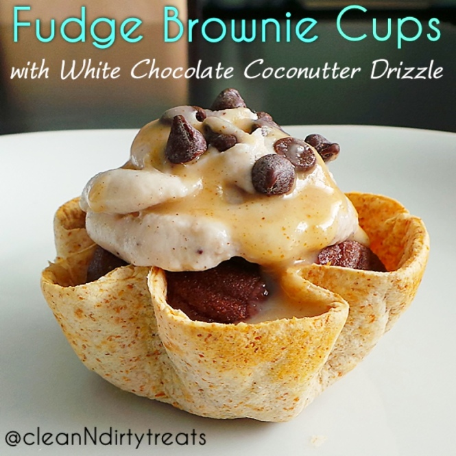 Chocolate Fudge Brownie Cups