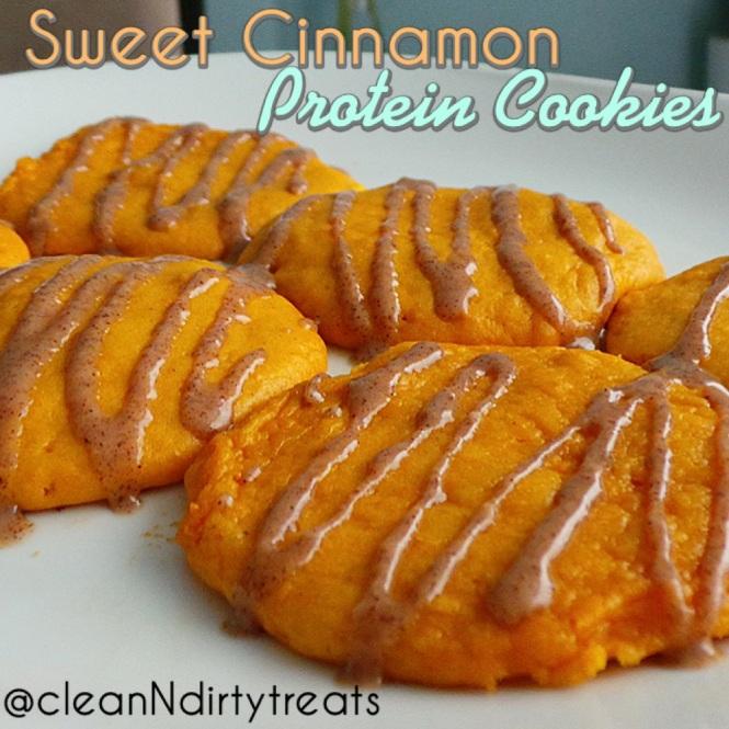 Sweet Cinnamon Protein Cookies