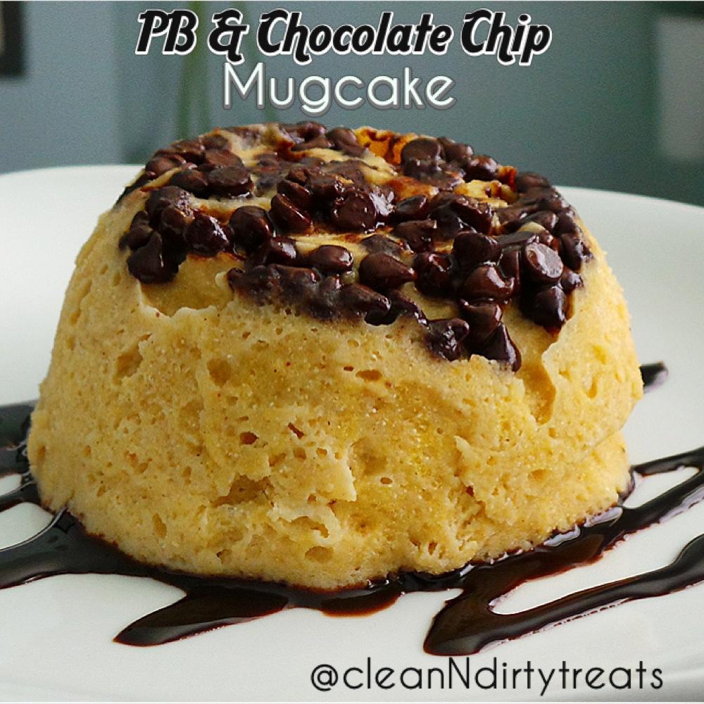 PB choco chip mugcake