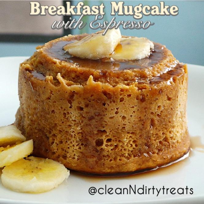Breakfast Mugcake with Espresso