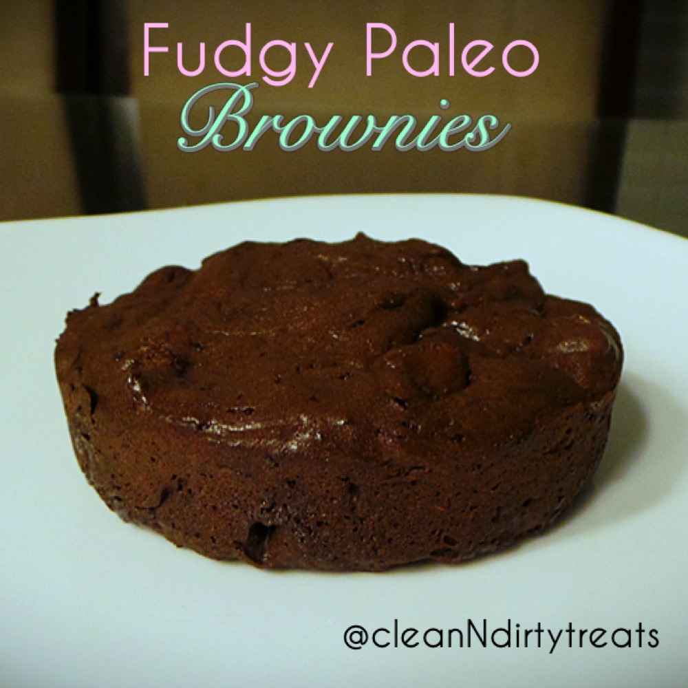 super fudgy paleo brownie