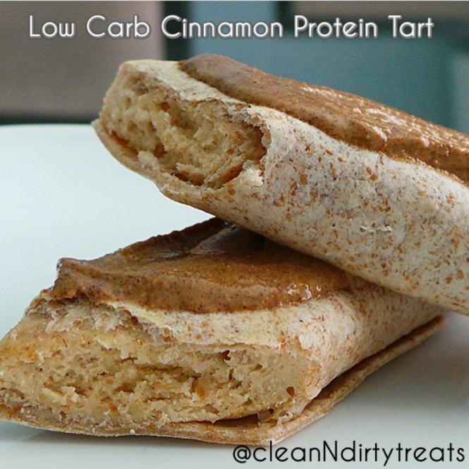low carb protein tart