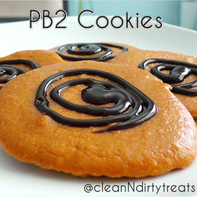 Low Fat PB2 Cookies – Clean 'N Dirty Treats