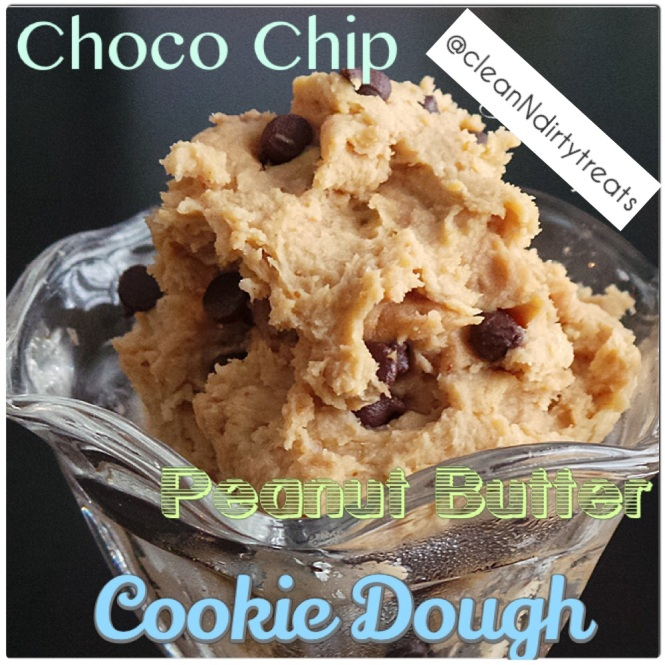 Chocolate Chip Peanut Butter Cookie Dough