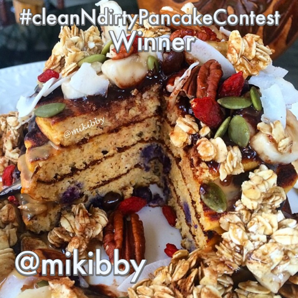#cleanNdirtyPancakeContest Contest Winner