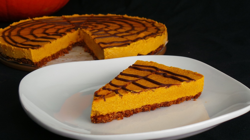 Low Carb Pumpkin Protein Cheesecake