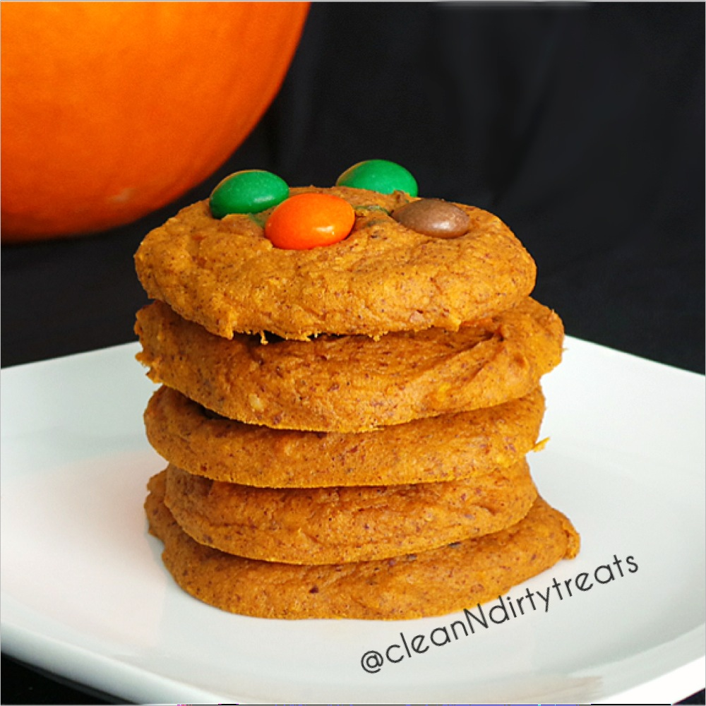 Low Carb Pumpkin Spice Protein Cookies