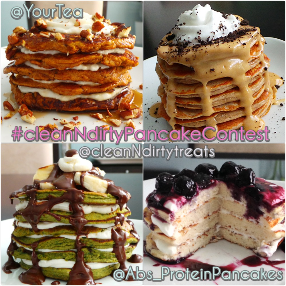 Clean N Dirty Treats Pancake contest