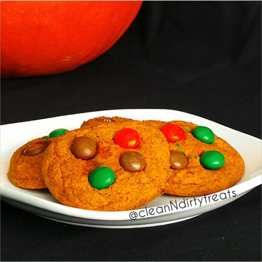 Pumpkin Spice Protein Cookies