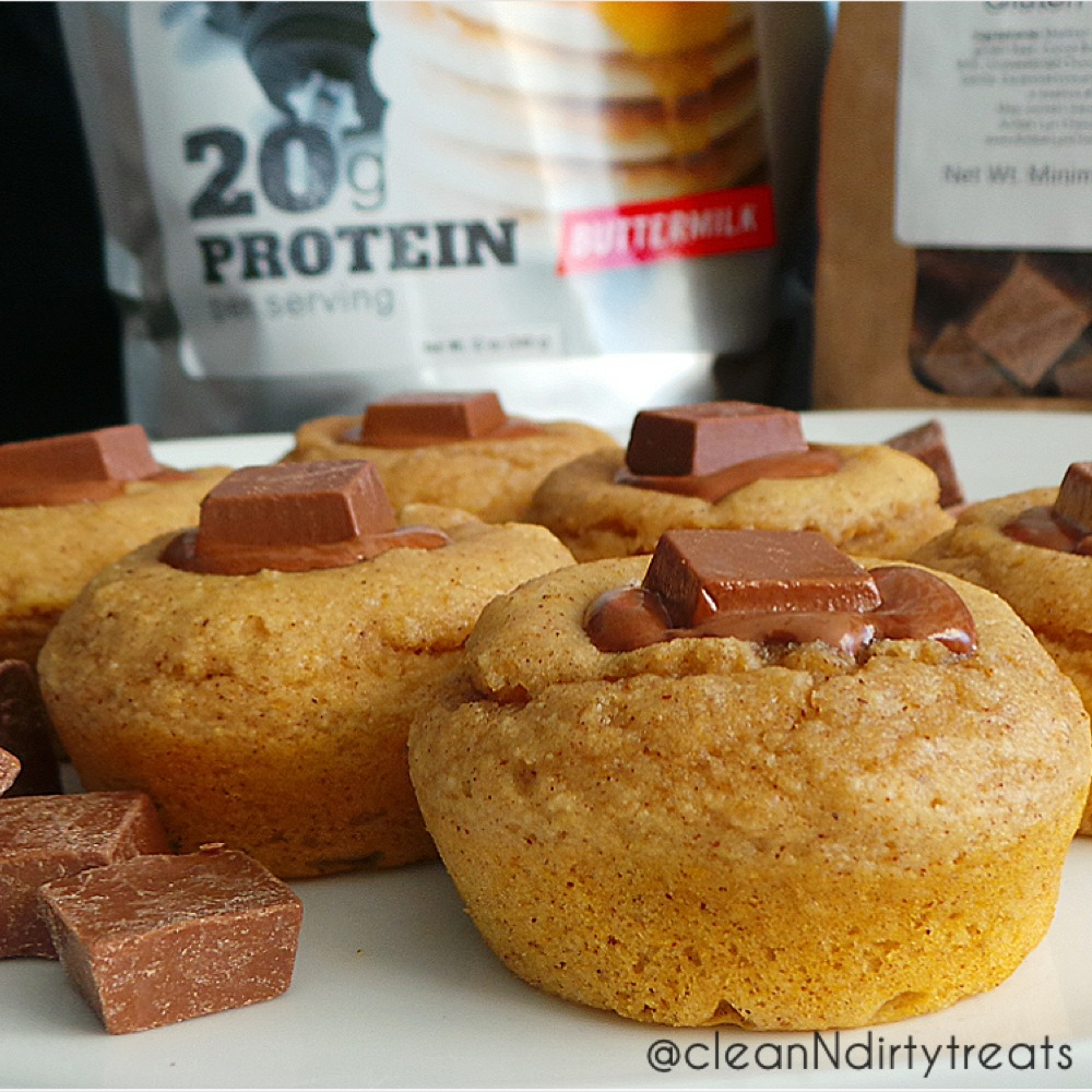 Easy Protein Muffins with Pumped Up Pancakes Mix