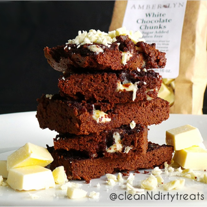 Low Carb Brownies with Amber Lyn Chocolates
