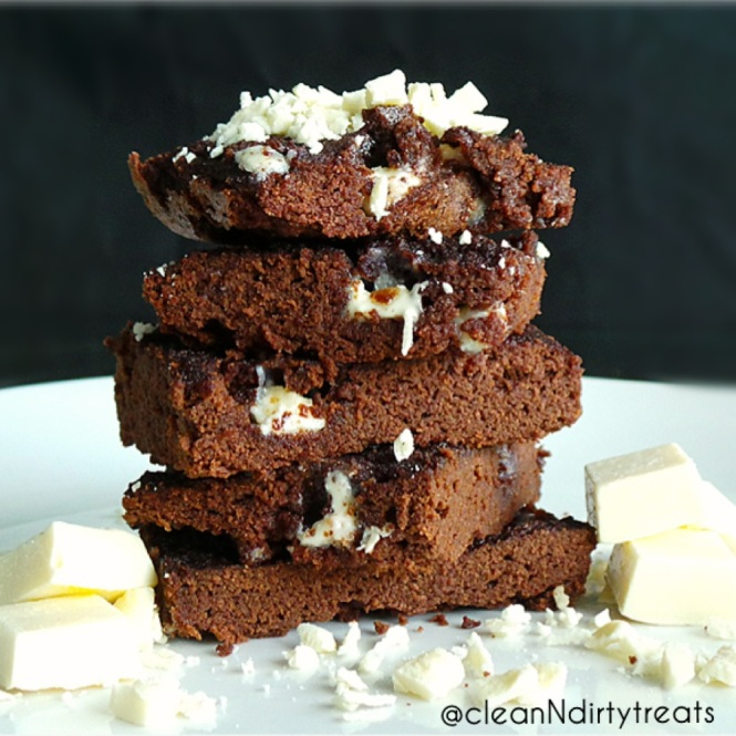 Low Carb Brownies with Sugar Free White Chocolate