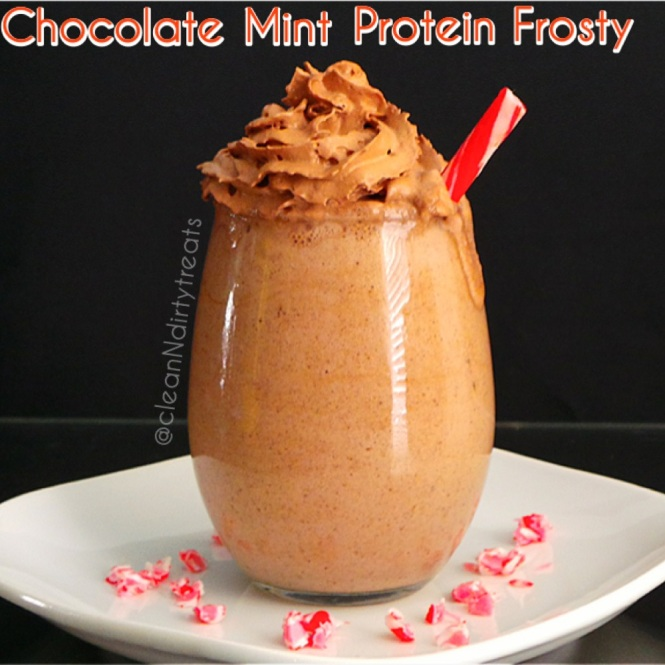 Chocolate Mint Protein Frosty