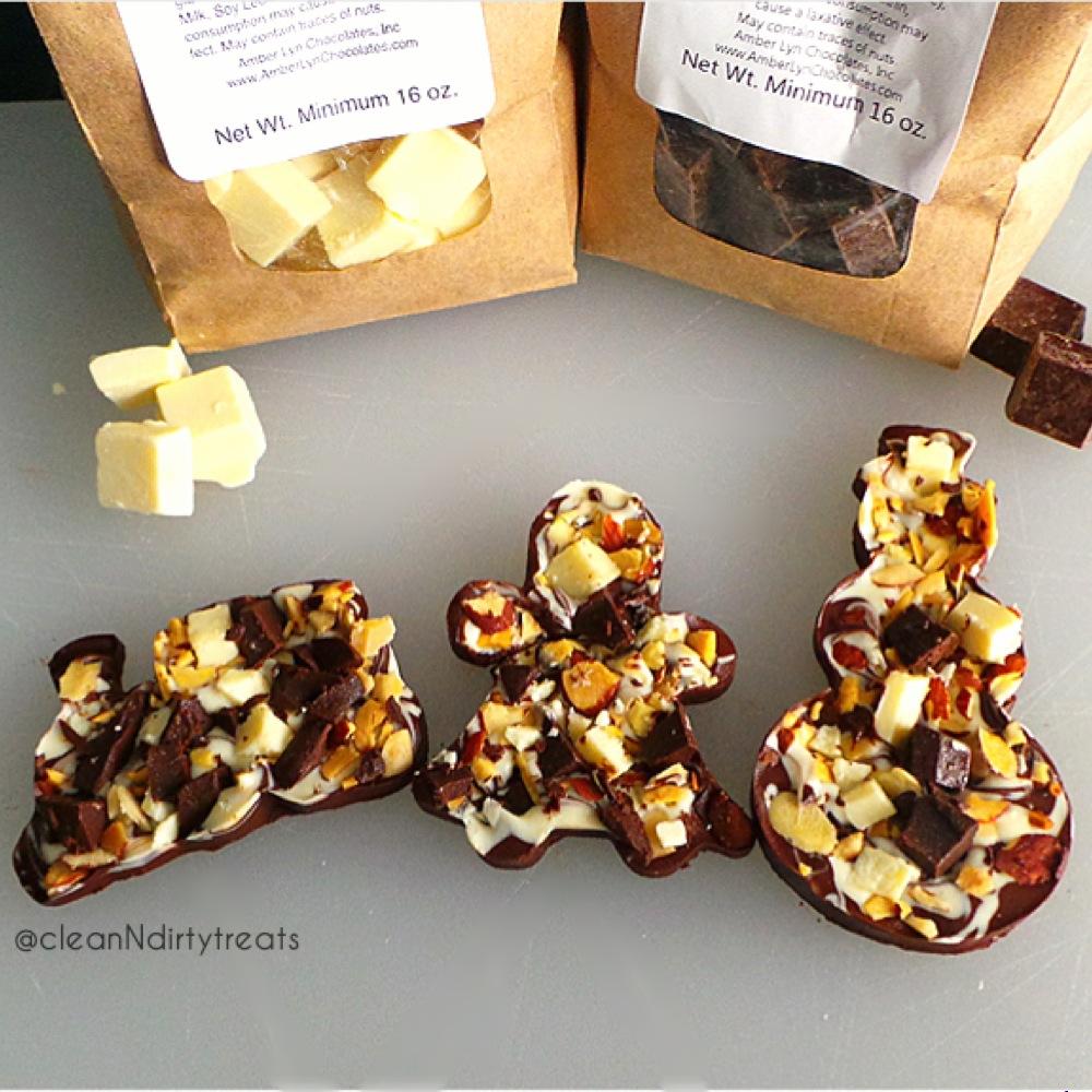 Sugar Free Bark with Amber Lyn Chocolates