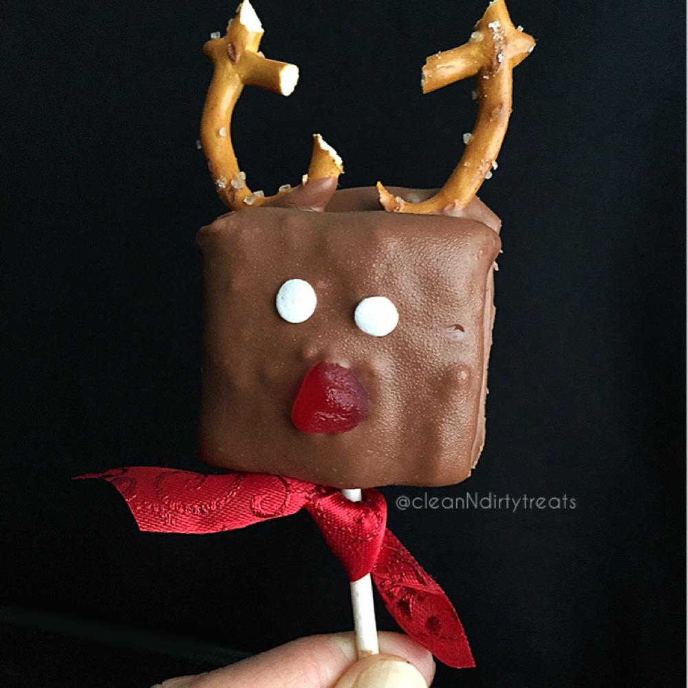 Sugar Free Marshmallow Reindeers