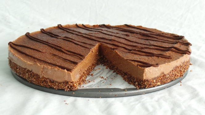 Dairy Free Chocolate Cheesecake