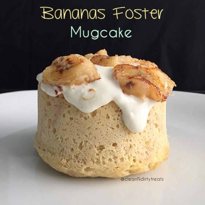 Bananas Foster Mugcake