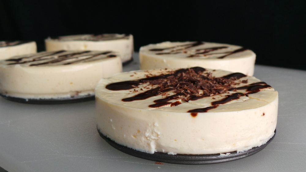 Chocolate Chip Protein Cheesecake