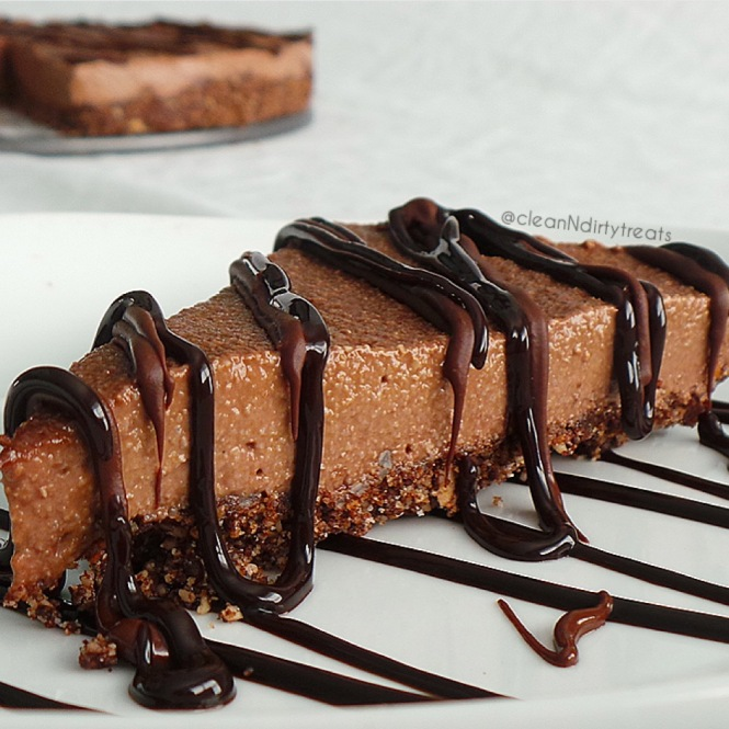 Chocolate Protein Cheesecake