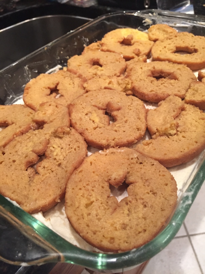 Donuts for Tiramisu